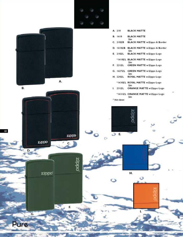 Catalogue ZIPPO 2004 Complete line (version américaine) 18zippo2004complete_line