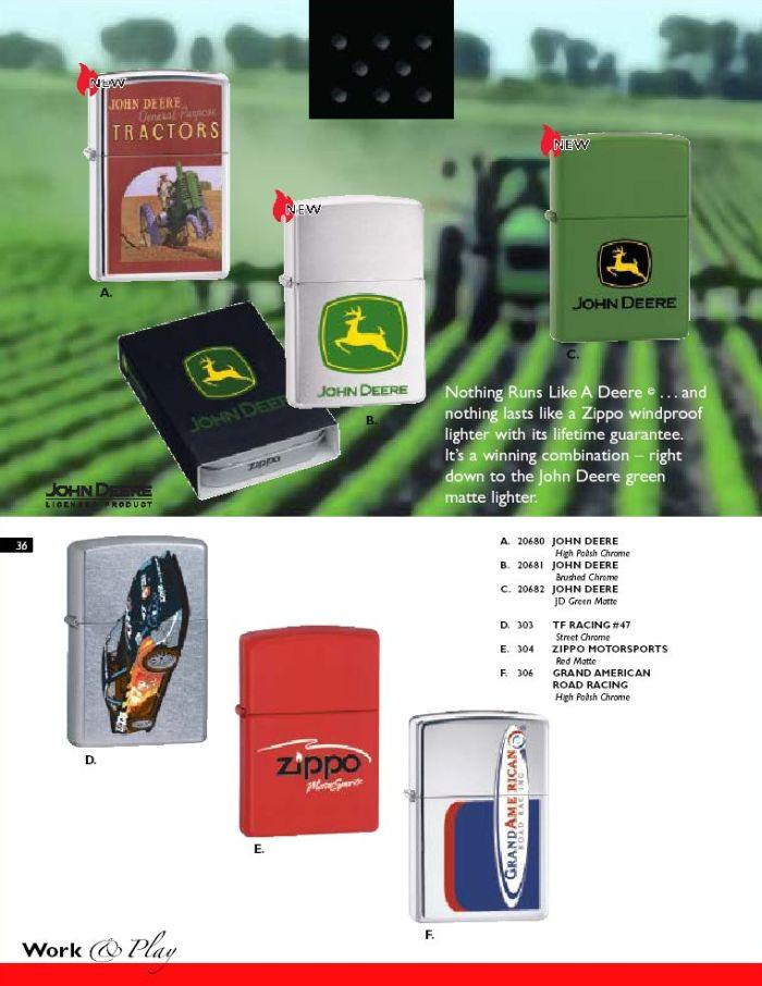 Catalogue ZIPPO 2004 Complete line (version américaine) 36zippo2004complete_line