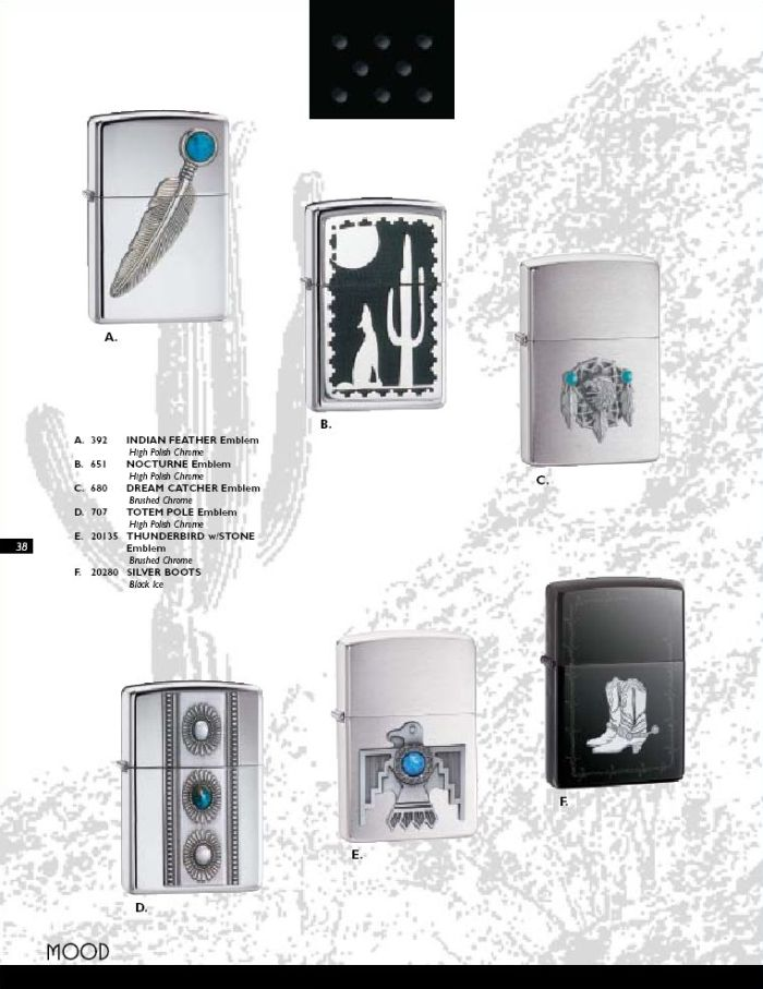 Catalogue ZIPPO 2004 Complete line (version américaine) 38zippo2004complete_line