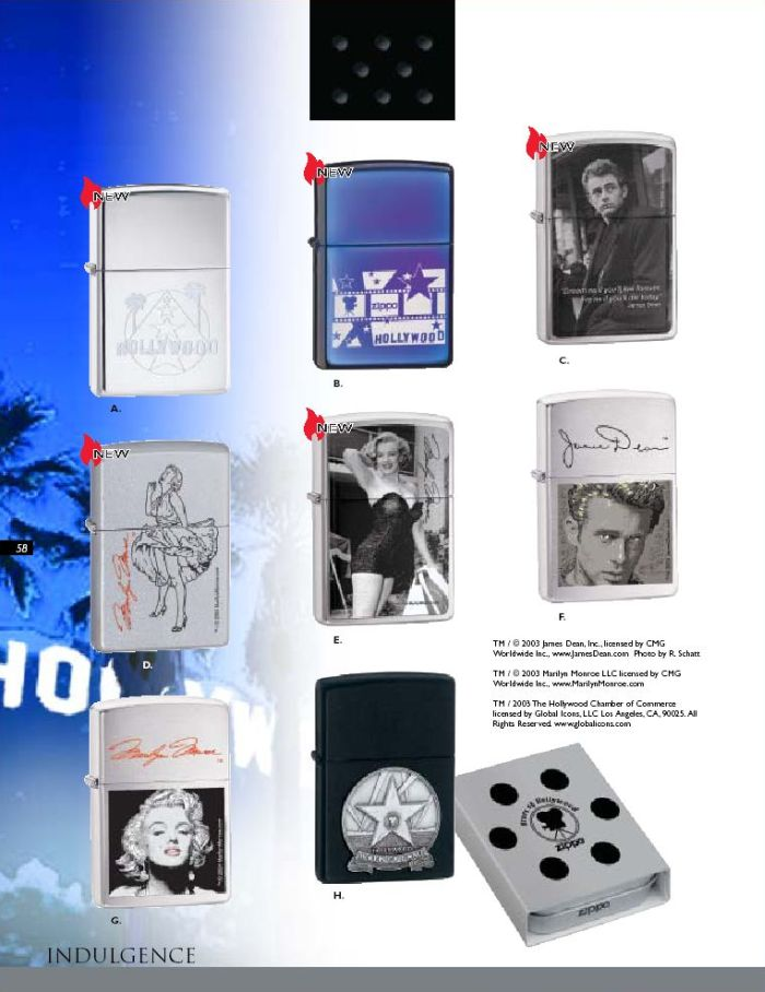 Catalogue ZIPPO 2004 Complete line (version américaine) 58zippo2004complete_line