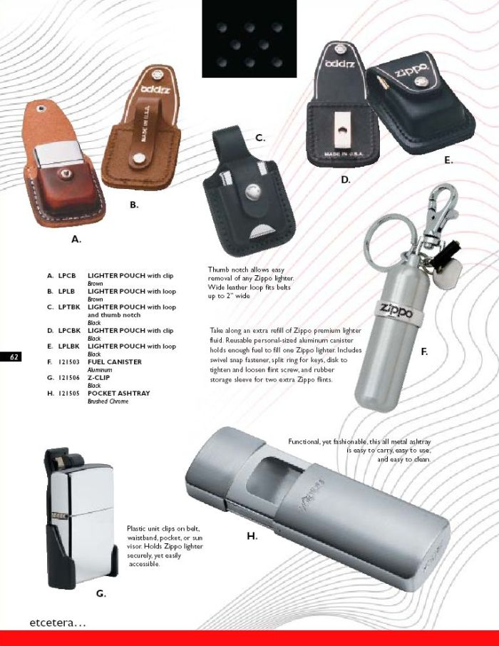 Catalogue ZIPPO 2004 Complete line (version américaine) 62zippo2004complete_line