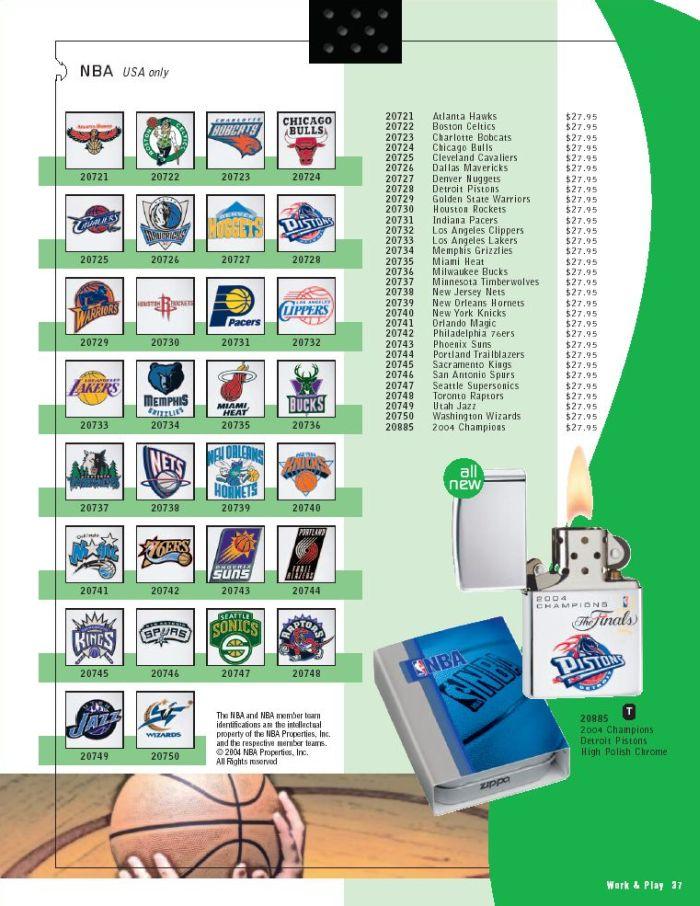 Catalogue ZIPPO 2005 Complete line (version américaine) 37zippo2005complete_line
