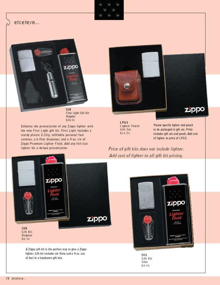 Catalogue ZIPPO 2005 Complete line (version américaine) 78zippo2005complete_line