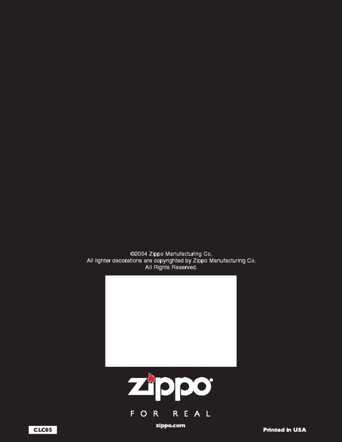 Catalogue ZIPPO 2005 Complete line (version américaine) 82zippo2005complete_line