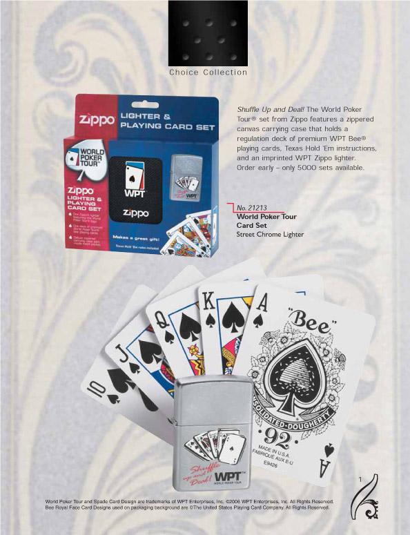 Catalogue ZIPPO 2006/07 Choice (version américaine) 01zippo2006_07choice