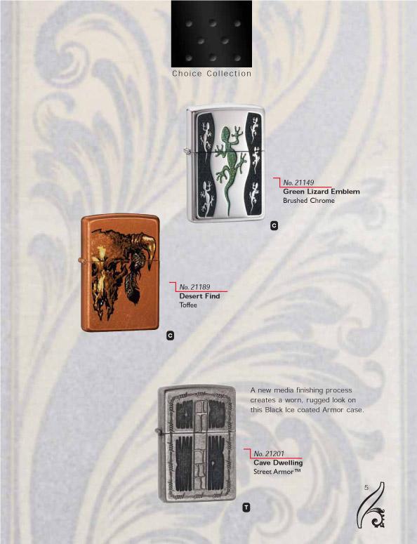 Catalogue ZIPPO 2006/07 Choice (version américaine) 05zippo2006_07choice