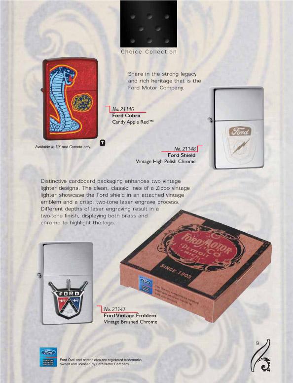 Catalogue ZIPPO 2006/07 Choice (version américaine) 09zippo2006_07choice