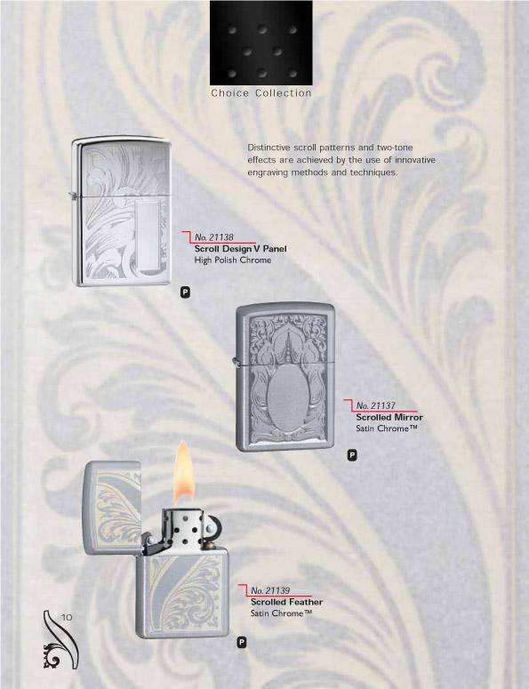 Catalogue ZIPPO 2006/07 Choice (version américaine) 10zippo2006_07choice