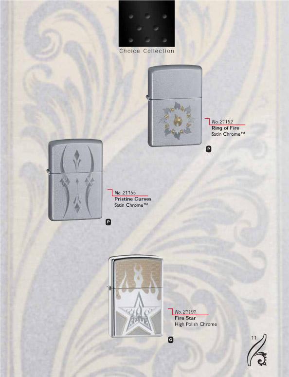 Catalogue ZIPPO 2006/07 Choice (version américaine) 11zippo2006_07choice