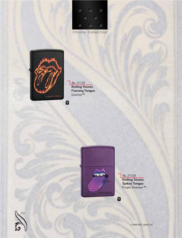 Catalogue ZIPPO 2006/07 Choice (version américaine) 12zippo2006_07choice