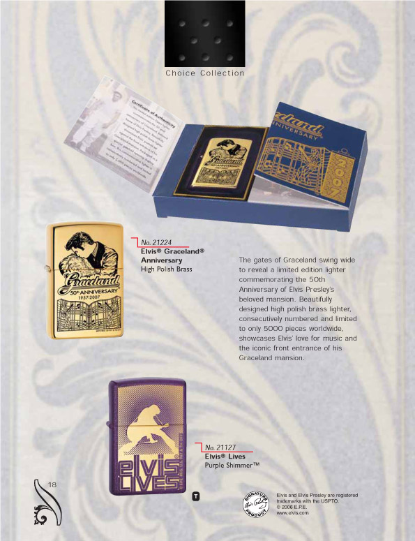 Catalogue ZIPPO 2006/07 Choice (version américaine) 18zippo2006_07choice