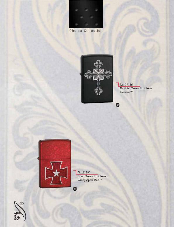Catalogue ZIPPO 2006/07 Choice (version américaine) 20zippo2006_07choice