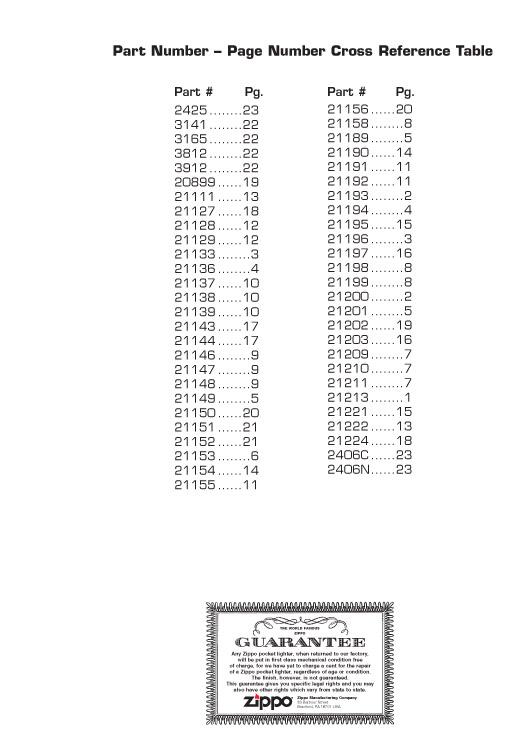 Catalogue ZIPPO 2006/07 Choice (version américaine) 25zippo2006_07choice