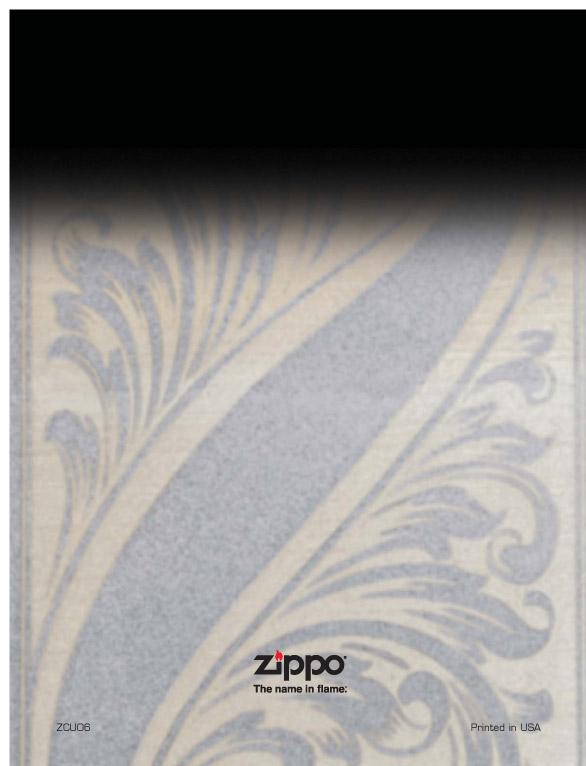 Catalogue ZIPPO 2006/07 Choice (version américaine) 26zippo2006_07choice