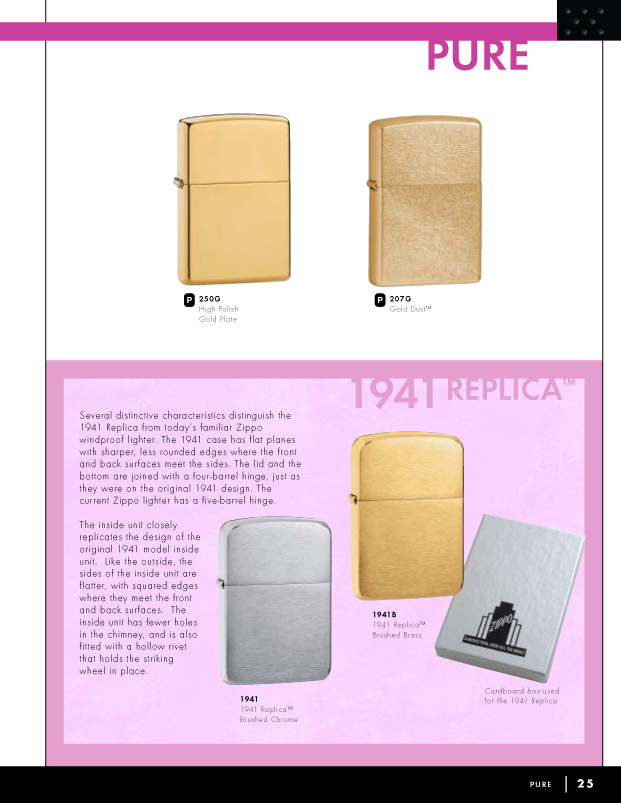 Catalogue ZIPPO 2006 Complete line (version américaine) 25zippo2006complete_line