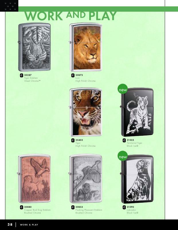 Catalogue ZIPPO 2006 Complete line (version américaine) 38zippo2006complete_line