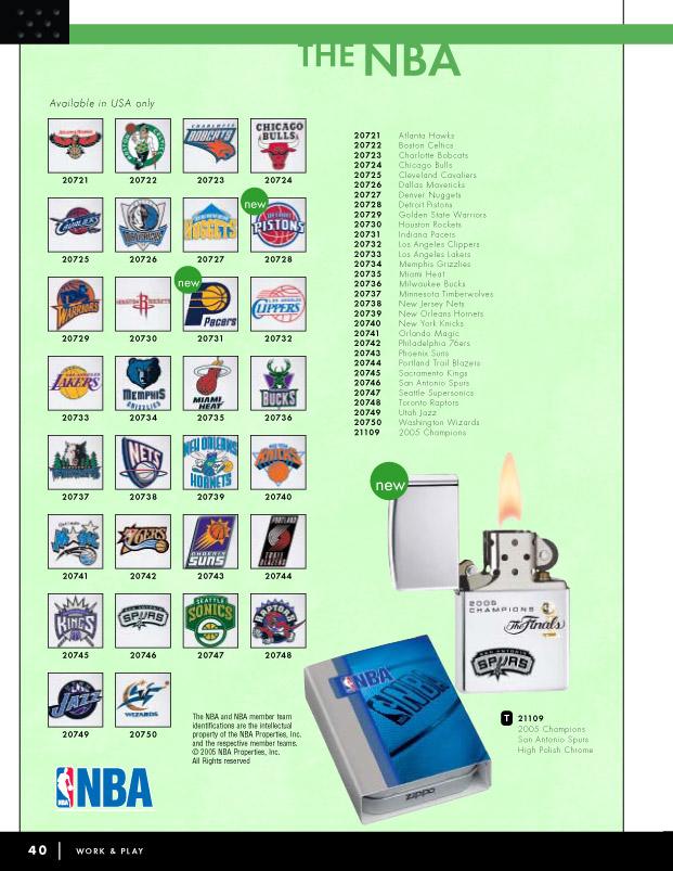 Catalogue ZIPPO 2006 Complete line (version américaine) 40zippo2006complete_line